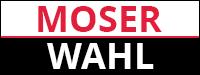 Логотип Moser, Wahl, Германия. Продажа серебряных украшений Moser, Wahl, Германия оптом и в розницу