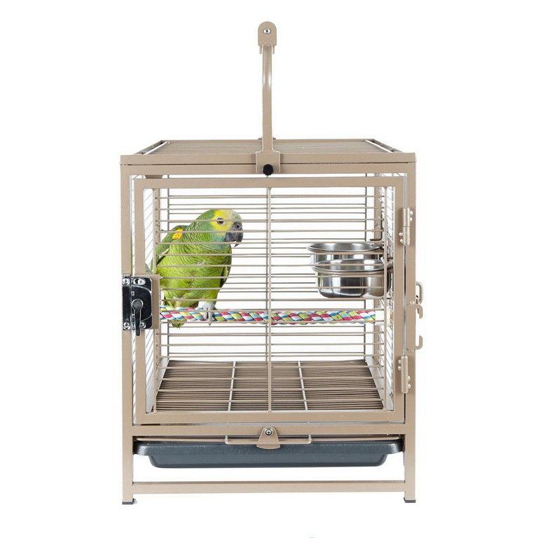 БОНУС Скай Клетка-переноска для птиц и животных Travellor (Путешественник), 38*48*63 см, вес 8 кг, Sky