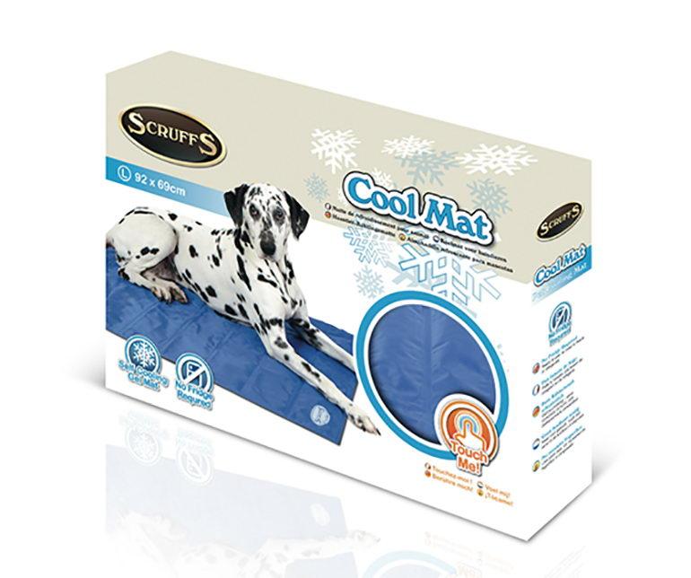 Скрафс Охлаждающий коврик для животных Cool Mat в ассортименте голубой Scruffs