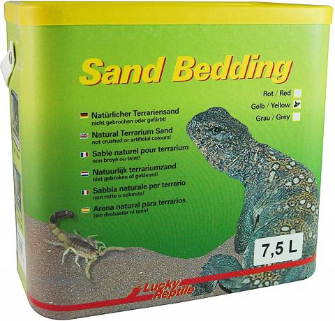 Лаки Рептайл Песок для террариумов Sand Bedding, в ассортименте, 7,5 л, Lucky Reptile