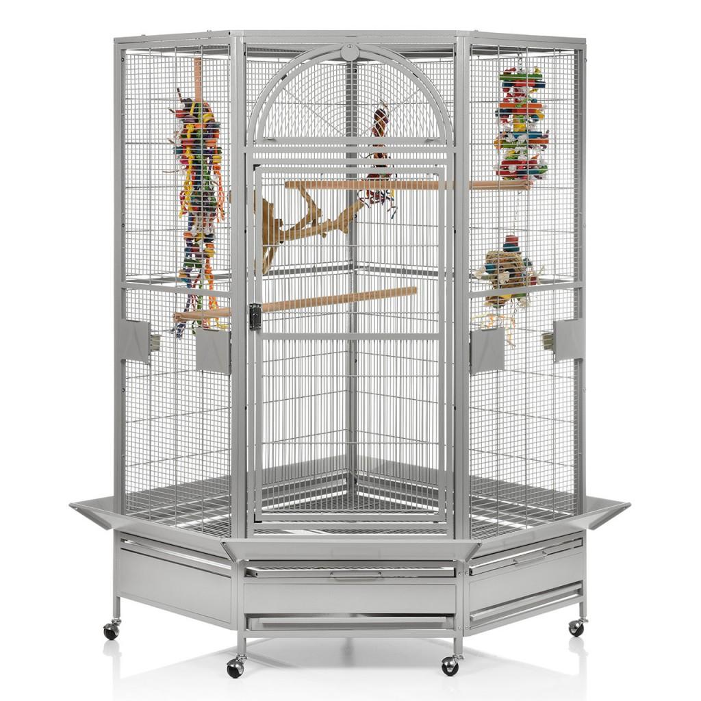 Монтана Клетка для грызунов, средних и мелких птиц, обезьян Denver II, 101*101*169/185 см, в ассортименте, Montana