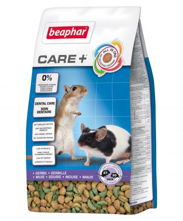 Беафар Корм Care+ для песчанок и мышей, в ассортименте, Beaphar