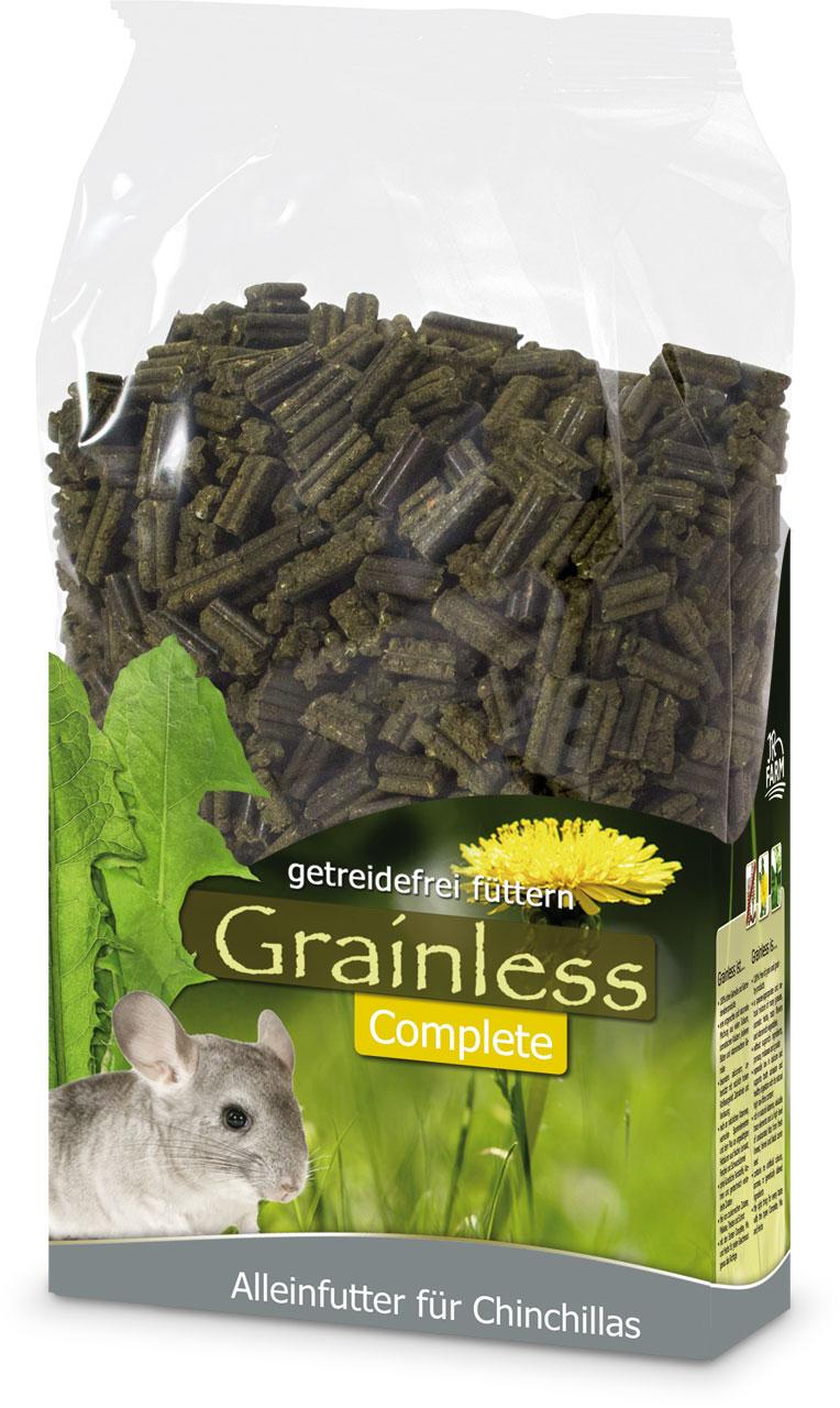 JR Farm Корм для шиншилл Grainless Complit беззерновые пеллеты, 1,35 кг