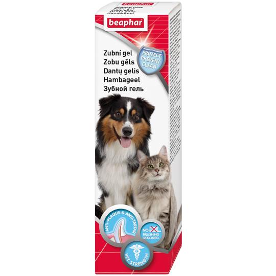 Беафар Зубной гель Tooth gel для собак и кошек, 100 г, Beaphar