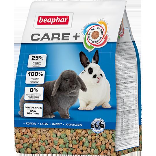 Беафар Корм супер-премиум класса для кроликов Care+ Rabbits, в ассортименте, Beaphar