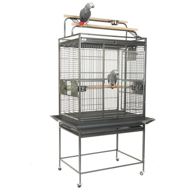 Скай Клетка-вольер Dakota для средних и крупных птиц, 81*59*178/165 см, в ассортименте, Sky
