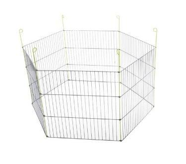 Вольтрега Вольер металлический для животных 120*61 см, 6 секций, Voltrega