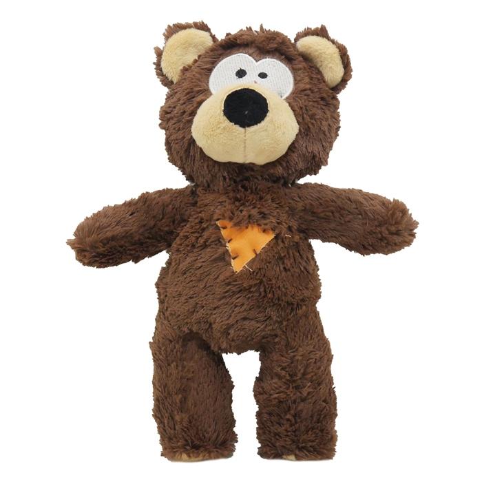 Роузвуд Игрушка для собак Медвежонок коричневый 26 см, Rosewood