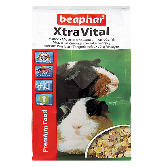 Беафар Корм премиум класса для морских свинок XtraVital Guinea Pig Food, в ассортименте, Beaphar