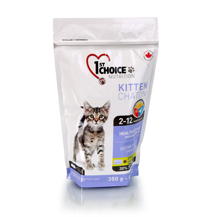 Корм Фест Чойс для котят Здоровый старт Kitten Healthy Start, Курица, в ассортименте, 1st Choice