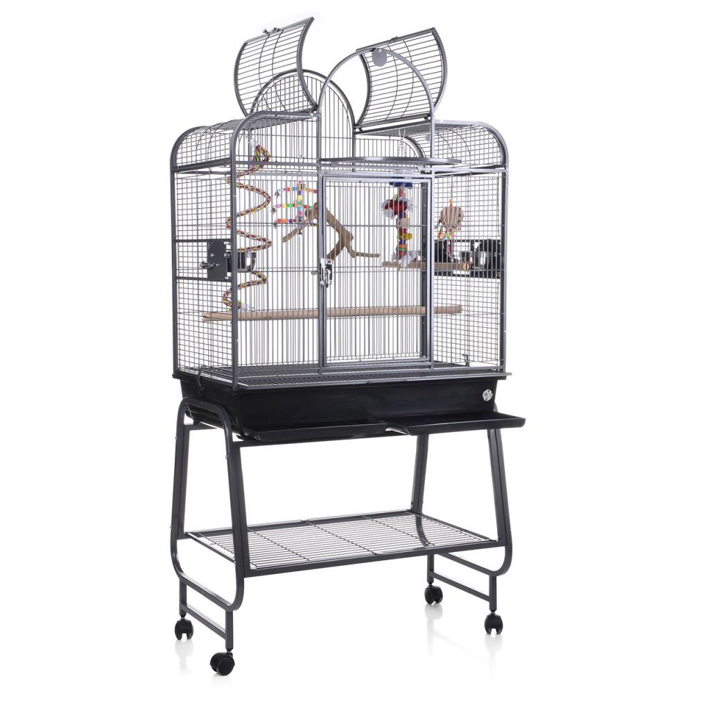 Монтана Клетка для птиц San Remo III на подставке 85*48*96/168 см, в ассортименте, Montana