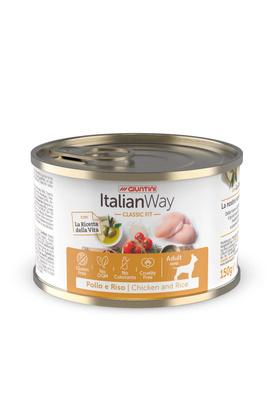 Италиан Вэй Консервы безглютеновые Classic Chicken/Rice для собак всех пород, Курица/Томаты/Рис, в ассортименте, Italian Way