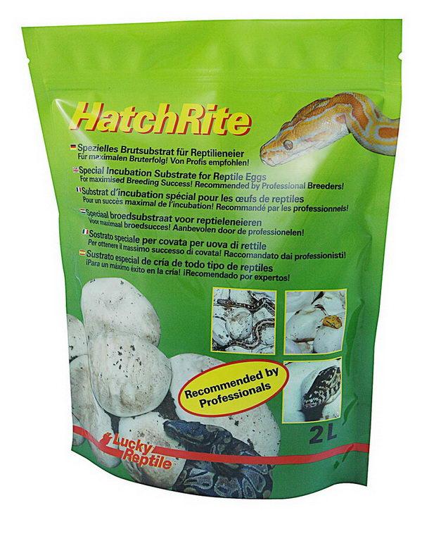 Лаки Рептайл Субстрат HatchRite для инкубации яиц рептилий, 2 л, Lucky Reptile