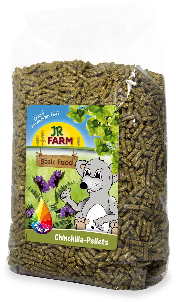 Jr Farm Корм гранулированный для шиншилл, пеллеты, в ассортименте