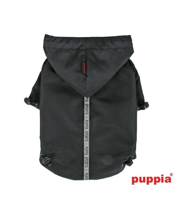 Паппи Дождевик с капюшоном Base Jumper, в ассортименте, черный, Puppia
