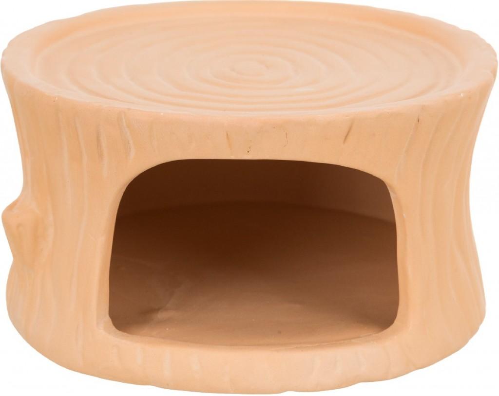 Трикси Домик для мышей и хомяков, керамика, 11*6*10 см, терракотовый, Trixie