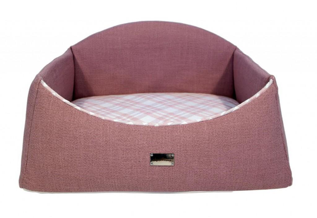АнтеПрима Лежак для животных Bergamo розовый, в ассортименте, AntePrima