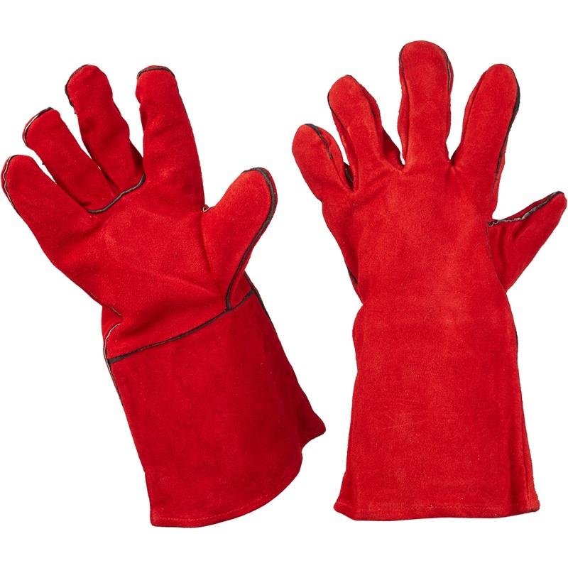 ТД ВЕТ Ветеринарные защитные перчатки, кожа, в ассортименте
