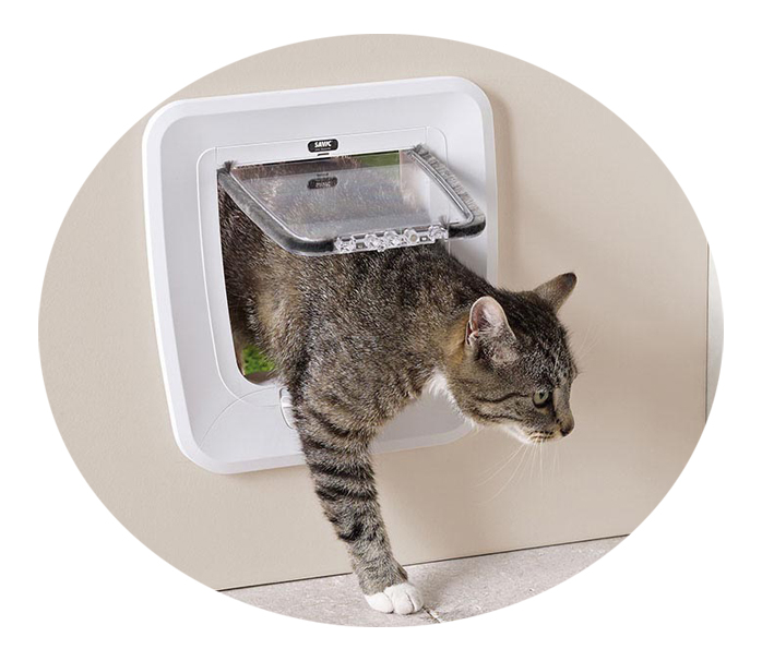 Савик Дверца Upgradable для кошек и небольших собак 28,5*29,5 см в ассортименте, Savic
