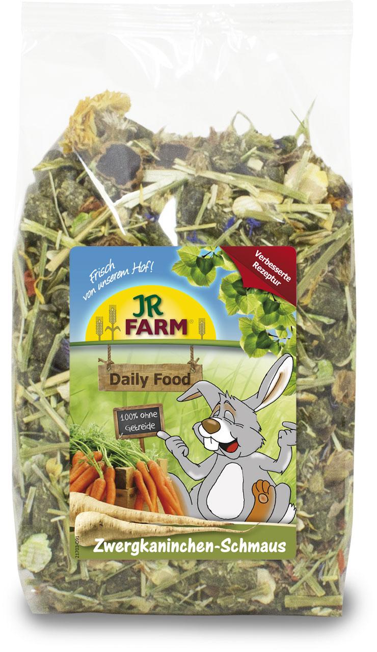 JR Farm Полнорационный корм премиум-класса Basic Food (Пир для карликовых кроликов), 1,2 кг