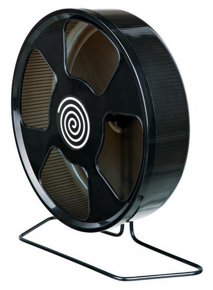 Трикси Пластиковое беговое бесшумное колесо на металлической подставке, в ассортименте, Trixie