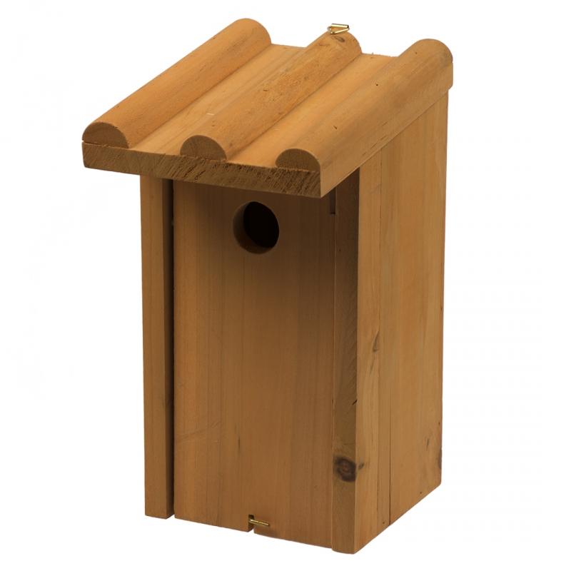 Дуво+ Домик для гнездования деревянный 13*12*26 см, DUVO+