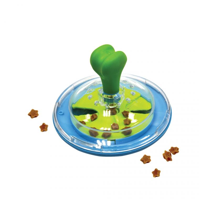 Дуво+ Игрушка для собак Спиннер для лакомств 10*15 см, DUVO+