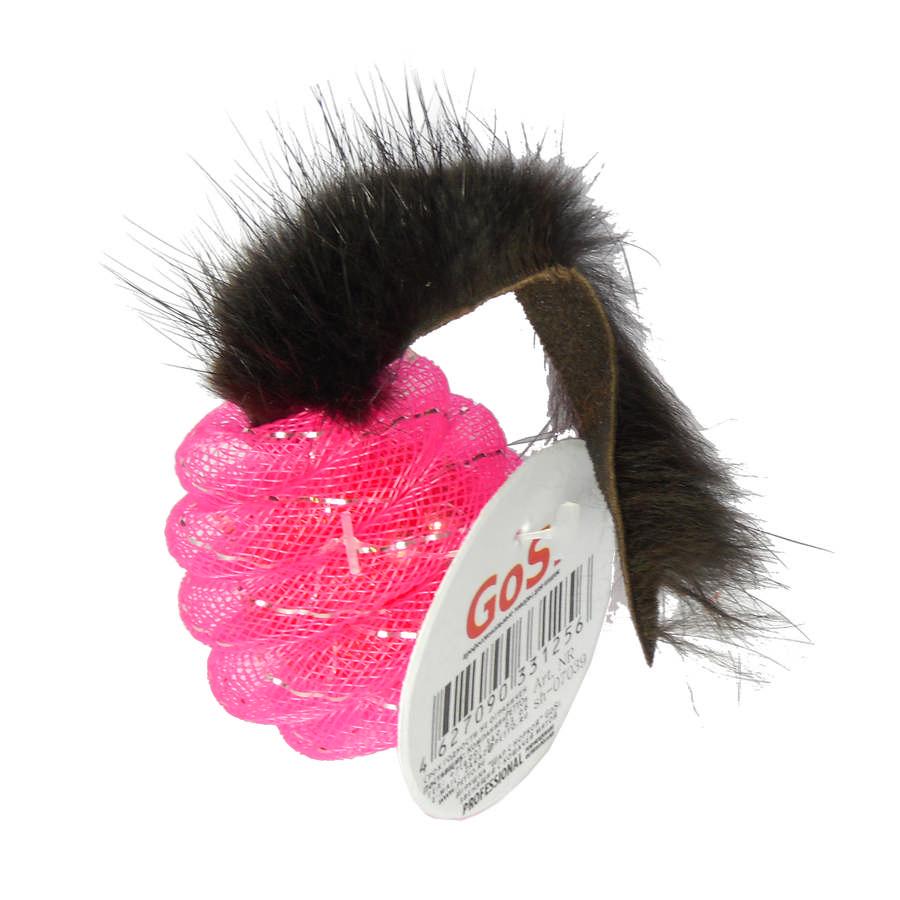 Игрушка Шар 5 см с мехом норки GoSi
