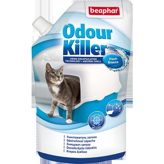 Беафар Уничтожитель запаха Odour Killer для кошачьих туалетов, 400 г, Beaphar