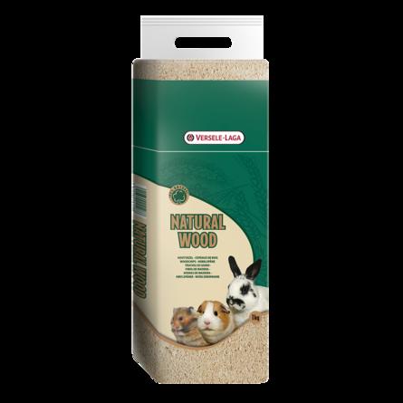 Верселе Лага Опилки для грызунов Natural Wood Woodchips прессованные, 1 кг, Versele-Laga