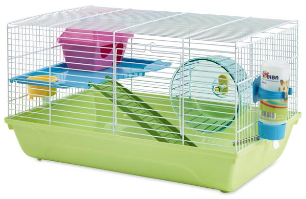 Савик Клетка Martha Double, для мелких грызунов, 46,5*29,5*26,5 cм, в ассортименте, Savic