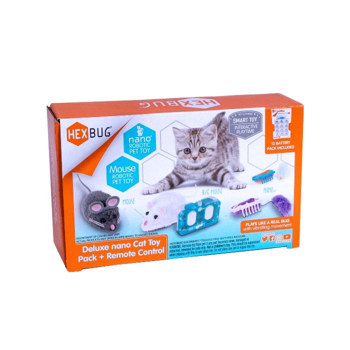 НОВИНКА!! Хексбаг Набор интерактивных игрушек для кошек (4 игрушки +12 батареек) Hexbug