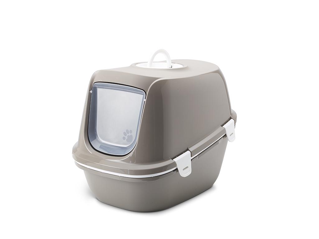 Савик Туалет-бокс закрытый Reina Sift 64*46*48 см с двойным дном и сеткой, в ассортименте, Savic