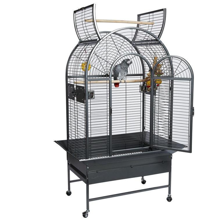 Скай Клетка-вольер Santa Marta-II для средних и крупных птиц, 86*53*157 см, в ассортименте, Sky