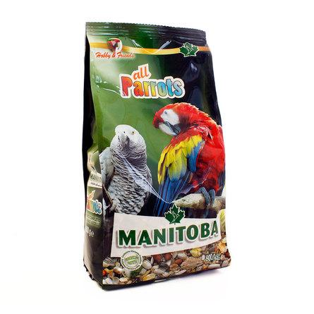 Манитоба Корм премиум-класса для крупных попугаев 800 г, Manitoba