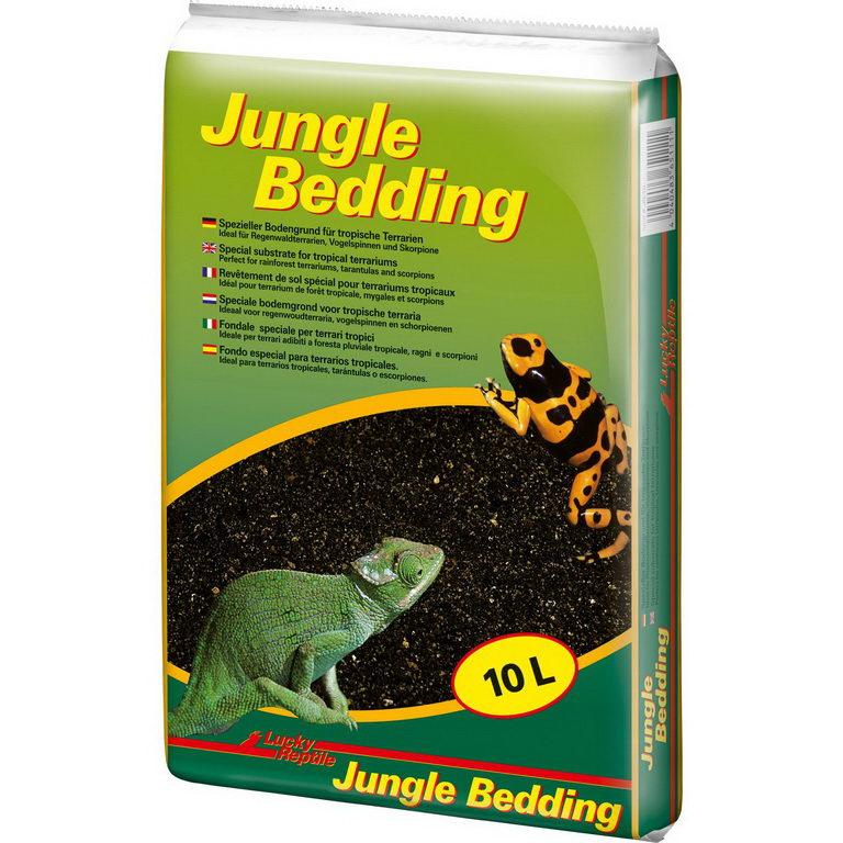 Лаки Рептайл Субстрат Jungle Bedding для террариумов, в ассортименте, Lucky Reptile