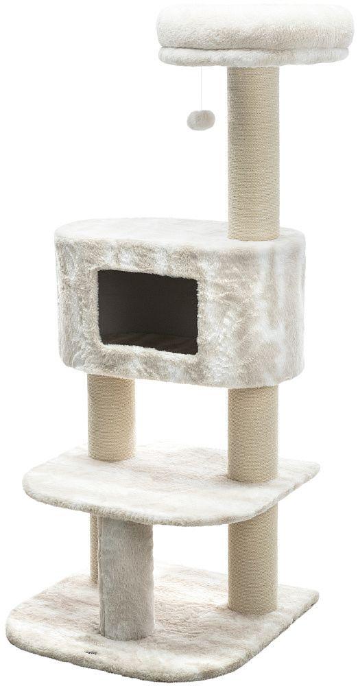 Трикси Игровой комплекс Nelli 58*58*140 см для кошек, белый, Trixie