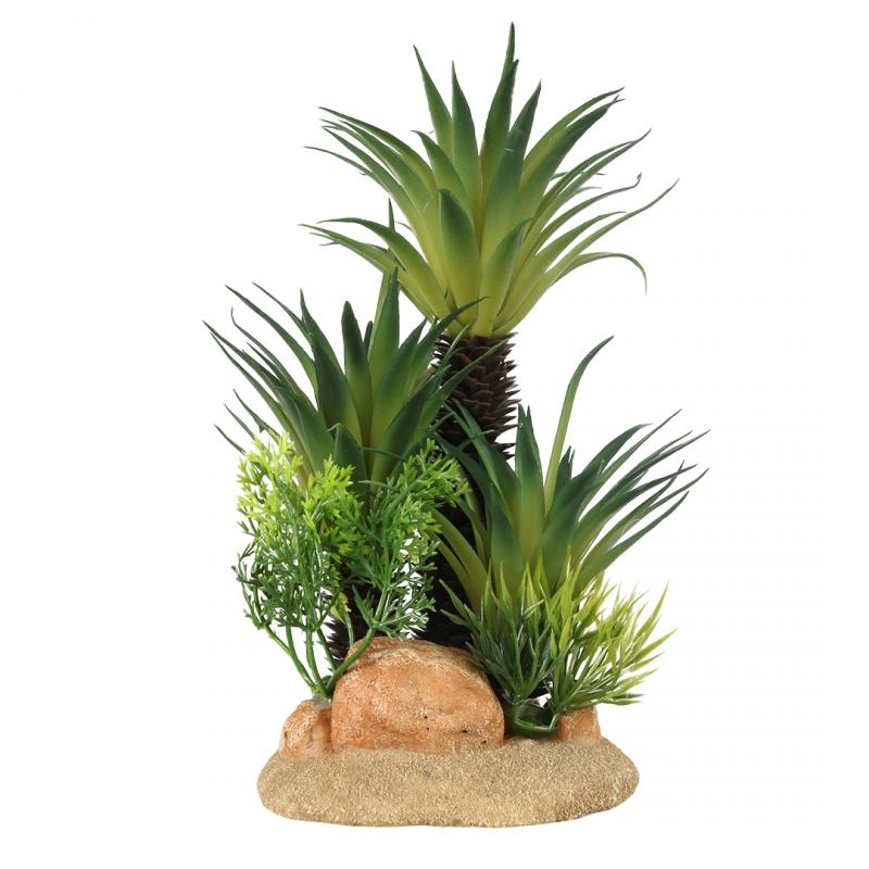 АкваДелла Декоративное растение Sago Palm для террариумов и аквариумов, в ассортименте, AquaDella