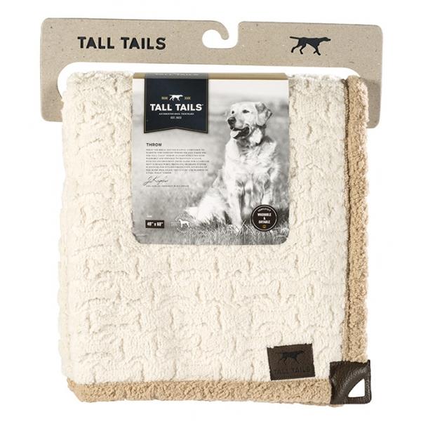 Роузвуд Плед-лежак Tall Tails бежевое в рубчик 76*102 см, Rosewood