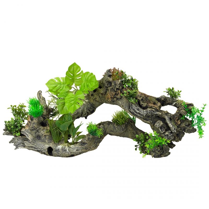 АкваДелла Декоративное растение Florascape 8 для террариумов и аквариумов, 72*17*32 см, AquaDella
