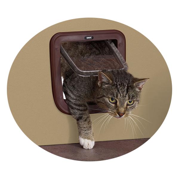 Савик Дверца Basic для кошек и небольших собак 21*22 см в ассортименте, Savic