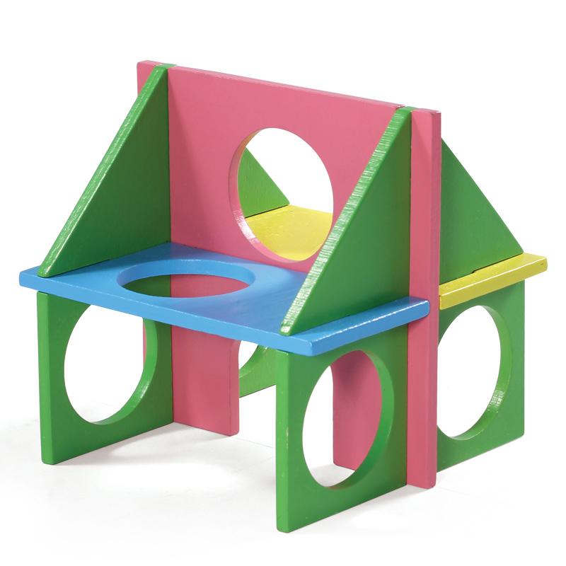 Триол Игровой комплекс для мелких животных Фитнес, 12,5*12,5*12,5 см, Triol