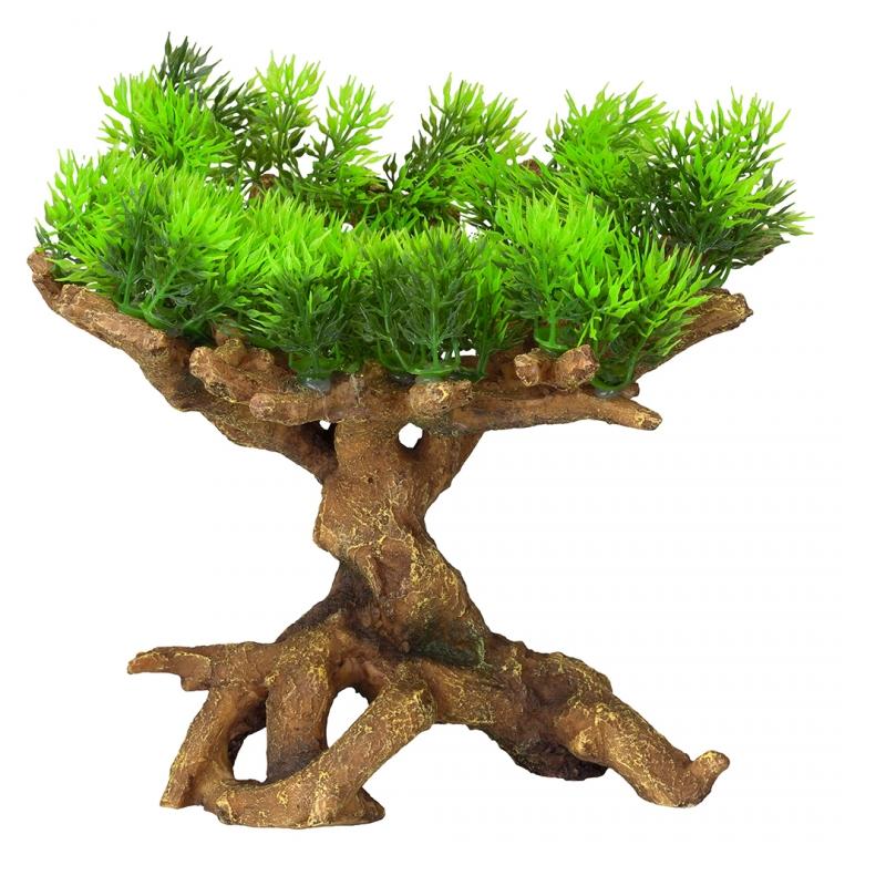 АкваДелла Декоративное растение Florascape 11 для террариумов и аквариумов, 22*19*23,5 см, AquaDella