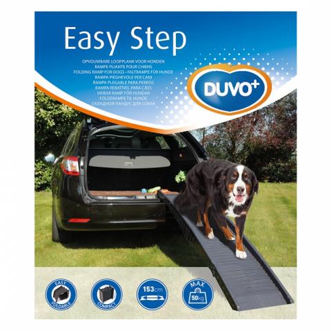 Дуво+ Пандус-трап СКЛАДНОЙ для автомобиля при перевозке собак, 43/153*40 см, для собак весом до 50 кг, DUVO+