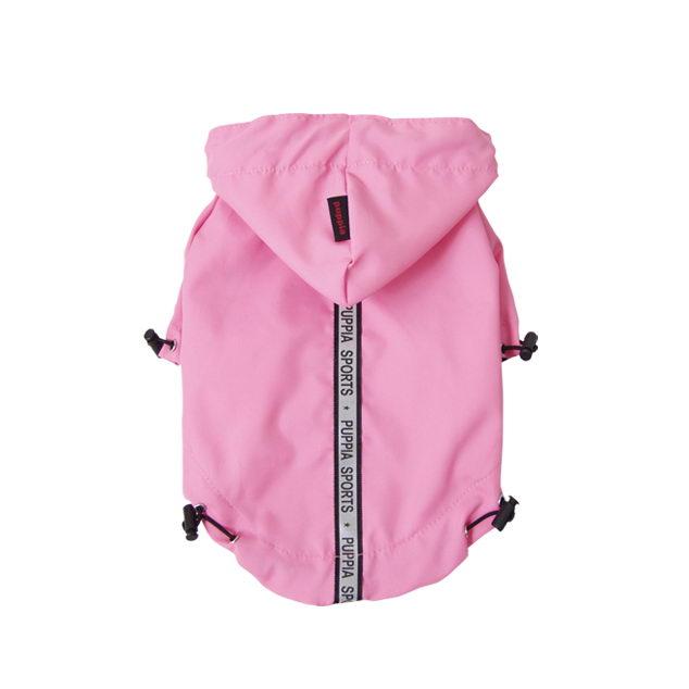 Паппи Дождевик с капюшоном Base Jumper, в ассортименте, розовый, Puppia