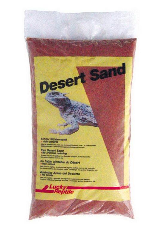 Лаки Рептайл Песок для террариумов Namibia, 5 кг, красный, Lucky Reptile