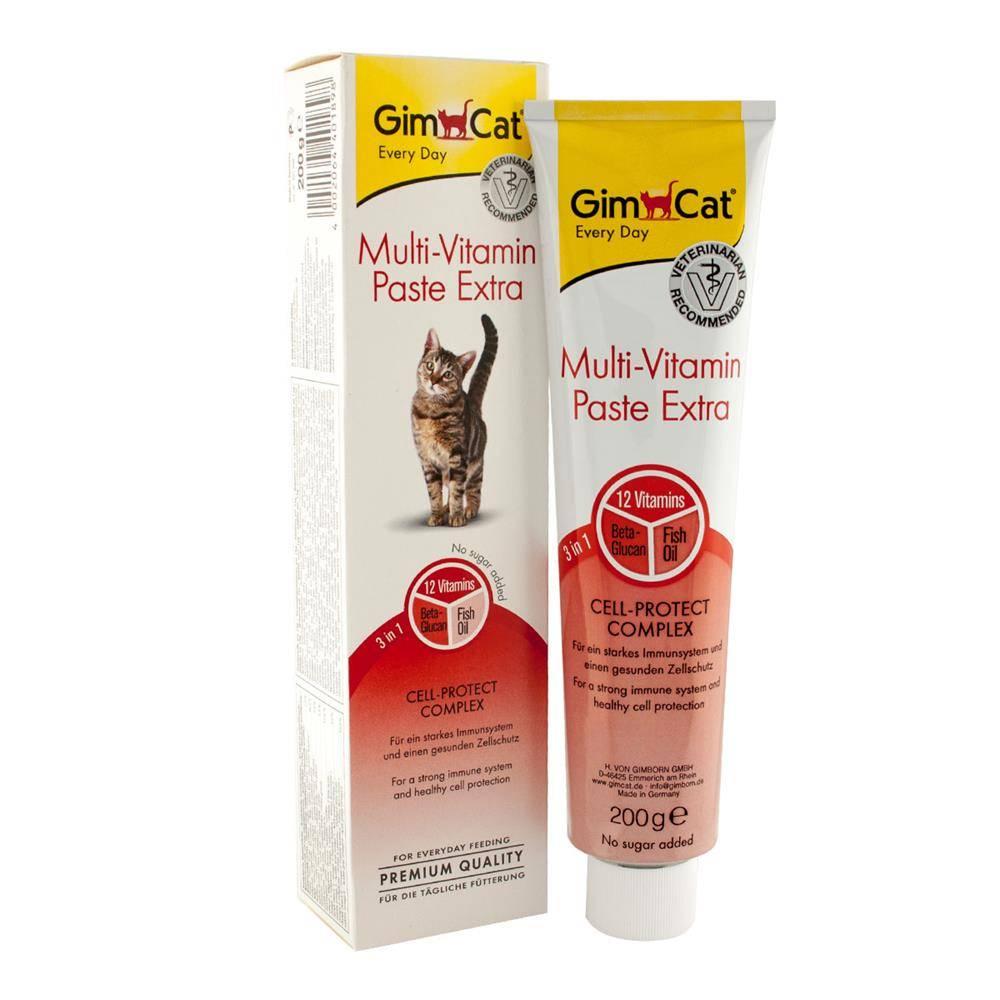 Джимкэт Паста Multi-Vitamin Extra мультивитаминная для кошек, в ассортименте, Gimcat