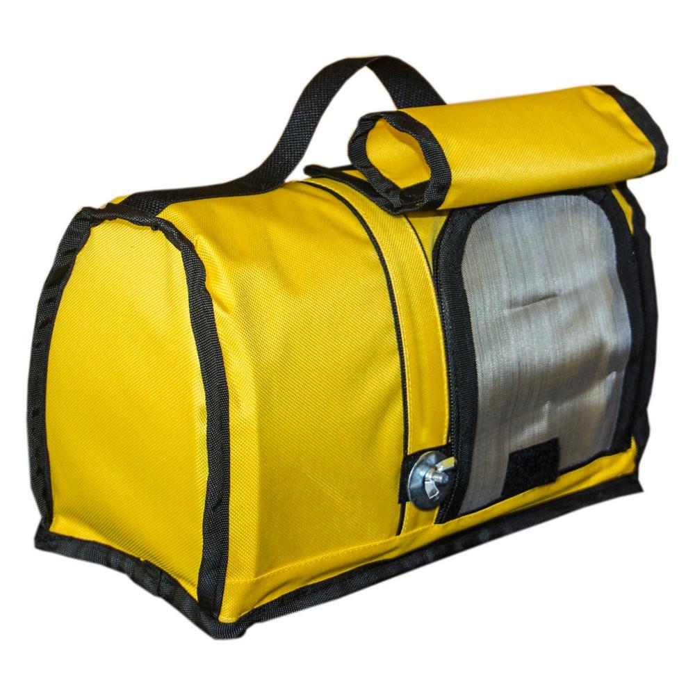 ПарротсЛаб Сумка-переноска PL2537 желтая, 32*16*19 см, ParrotsLab
