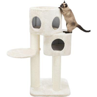 Трикси Игровой комплекс Lauretta 58*58*120 см для кошек, кремовый, Trixie