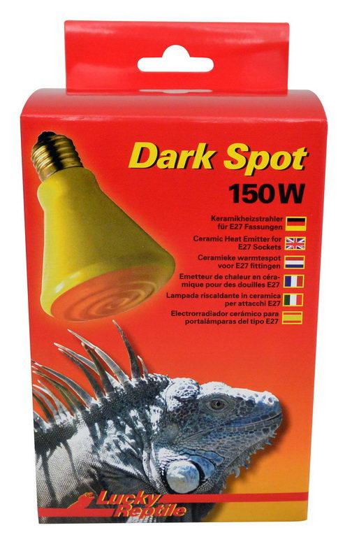 Лаки Рептайл Лампа Dark Spot тепловая керамическая, в ассортименте, Lucky Reptile